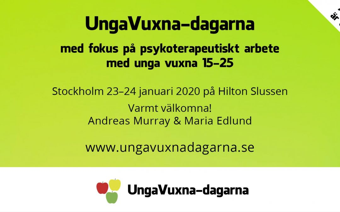 Välkomna till UngaVuxna-dagarna!